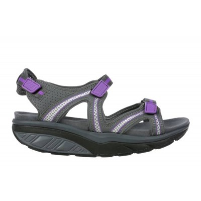 Lila 6 Sport Sandal W charcoal grey/purple