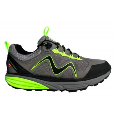 Tevo WP Lace Up M grey/lime green